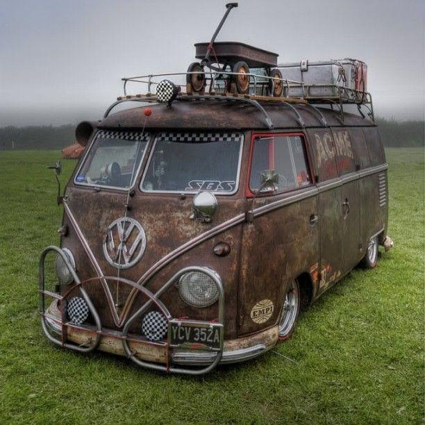 Surf Cars: 20 Of The Coolest Custom VW Campervans Ever Built